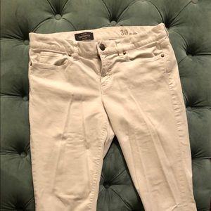 J CREW Toothpick Corduroy Skinny Ankle Pants
